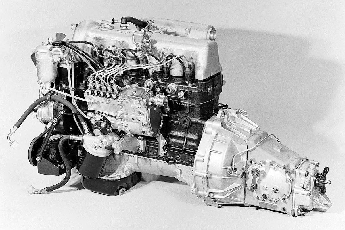 تاریخچه موتورهای دیزلی